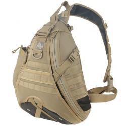 Mochila Bandolera Maxpedition Monsoon Gearslinger Khaki