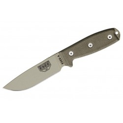 ESEE Model 4 Filo Liso Desert Tan
