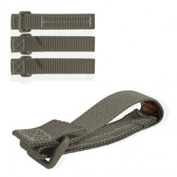 "Maxpedition Tactie straps 3"" Foliage Green 4 Unidades"