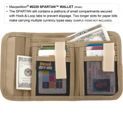 Maxpedition Spartan Wallet Marrón