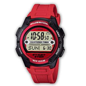 Reloj Casio Collection W 756 4AVES, compra online