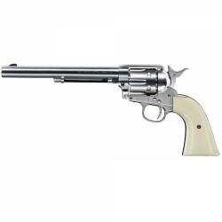 "Revolver Colt SAA .45 Niquel 7,5"" Co2 - 4,5 mm BBs"