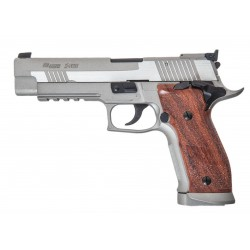 Cybergun Sig Sauer P226 X-FIVE Nickel/Madera Blowback Co2 Full Metal