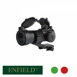 Visor Enfield 1x30 Red Dot/Green Dot Montura Picatinny