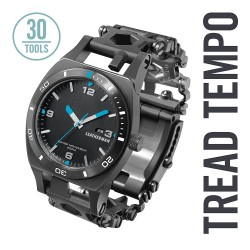 Reloj Leatherman Tread Tempo Negro