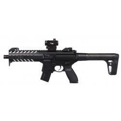 Carabina Sig Sauer MPX ASP + Red Dot 4,5 mm