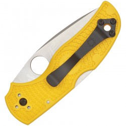 Spyderco Native 5 Salt Lockback Amarilla Serrada