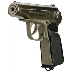 Baikal Makarov MP-654K Co2 Níquel