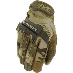 Guantes Mechanix M-PACT Camuflaje Multicam Marrón