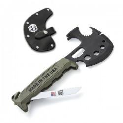 Hacha Off Grid Tools Survival Axe Verde