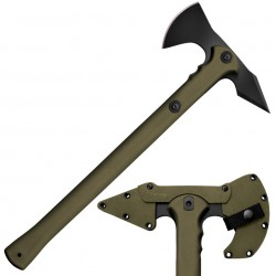 Hacha Cold Steel Trench Hawk Verde