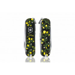 Victorinox - Navaja Suiza Multiusos Classic SD 2019 7 usos When Life Gives You Lemons