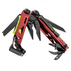 Alicate Multiusos Leatherman Signal Crimson Funda Nylon