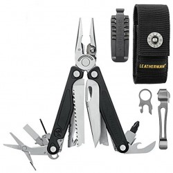 Alicate Multiusos Leatherman Charge + Plata Funda Nylon