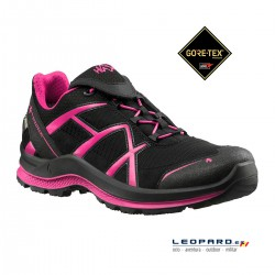 Zapatilla Haix Black Eagle Adventure 2.0 WS GTX Low Black-Magenta